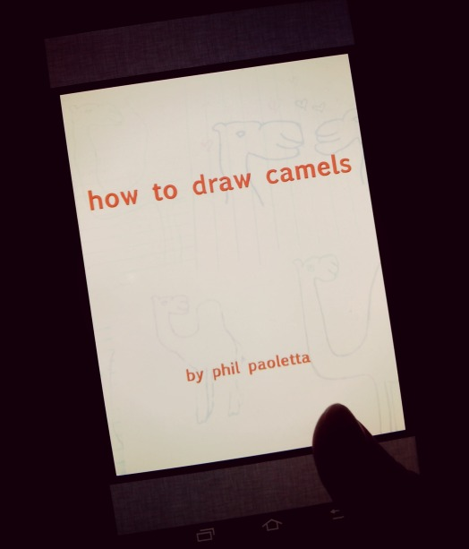 Feminadocta gets serious about camel drawing